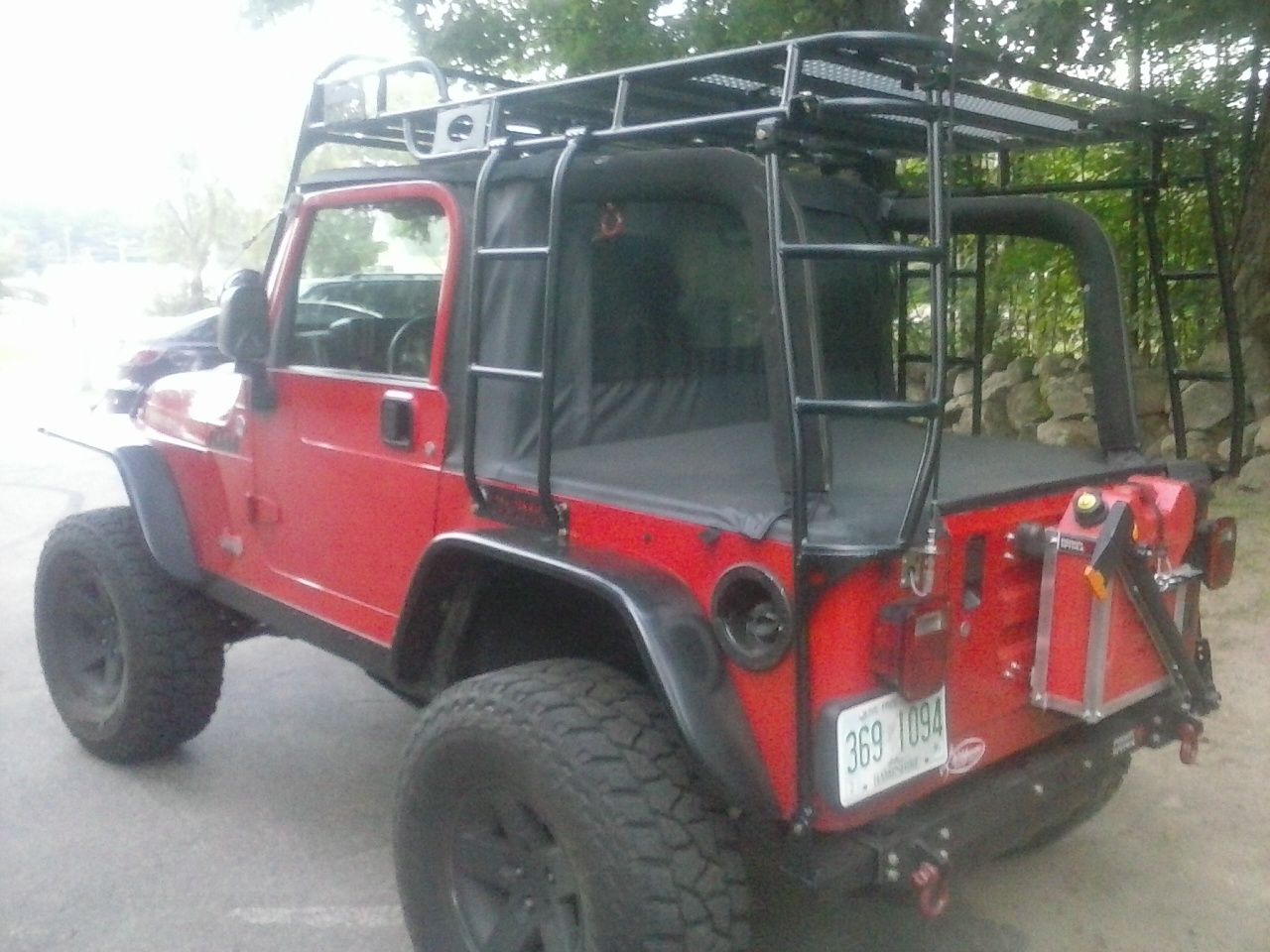 & Expedition Ready Jeep Wrangler unlimited JK Expedition Rack