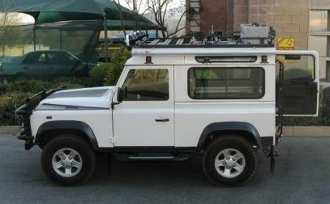 LAND ROVER  DEFENDER 90 SLIMLINE II FULL ROOF RACK