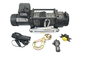 TJM 12000lb  Stealth Series Winch Synthetic rope.