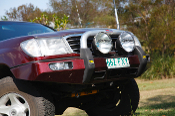 TJM Toyota Landcruiser  Series 100 Winch Bar