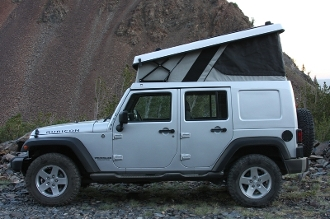 Jeep Jk Hard Top Conversion J30 Expedition Ready