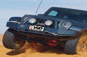 Jeep JK Wrangler Low Profile Rock Bar Front Bumper