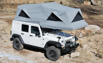 JEEP JK HARD TOP CONVERSION J180 | EXPEDITION READY
