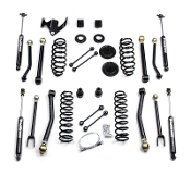 "Elite LCG JK 3"" Long Arm Suspension System w/9550 Shocks (4dr)"