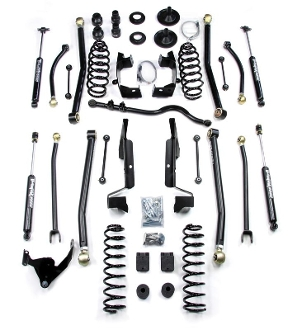 "Elite LCG JK 4"" Long Arm Suspension System"
