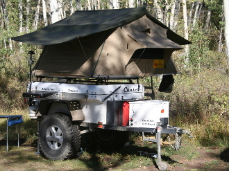 & Eezi Awn Series 3 1800 Roof Top Tent