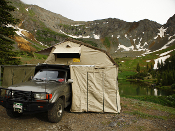 Eezi Awn XKLUSIV T-Top 1600 Roof Top Tent