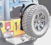 TITAN TRAIL TREKKER 12 gal Fuel Tank for Jeep Wranglers