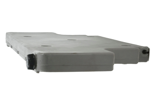 upright flat plastic water tank 10 57 gallons expedition ready